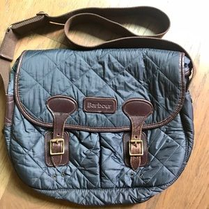 SALE! Barbour Quilted Nylon Tarras Bag